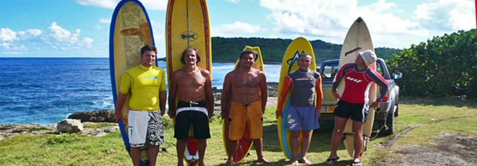SURF SCHOOL IN GUADELOUPE