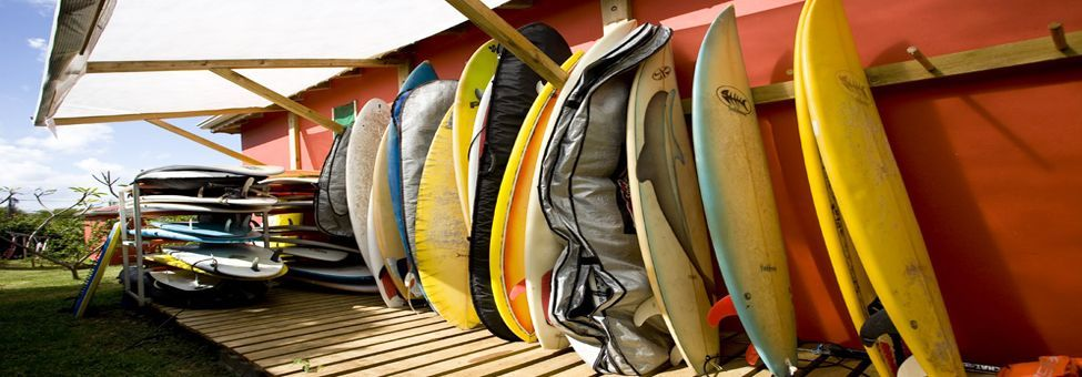 SURF EQUIPMENT RENTAL IN GUADELOUPE