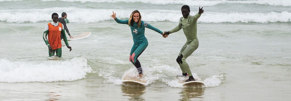 SURF SCHOOL IN DAKAR