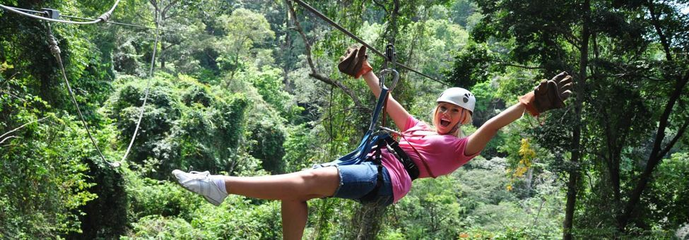 CANOPY TOUR IN TAMARINDO