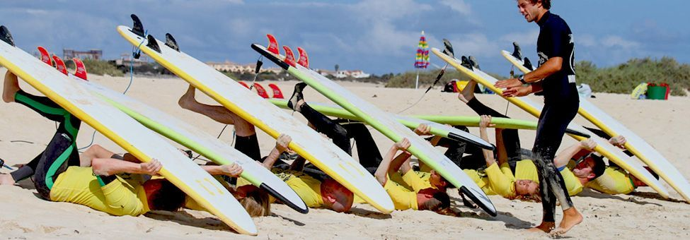 SURF SCHOOL IN FUERTEVENTURA