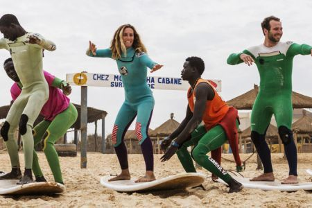 DAKAR SPECIAL GROUP TRAVEL SURF CAMP