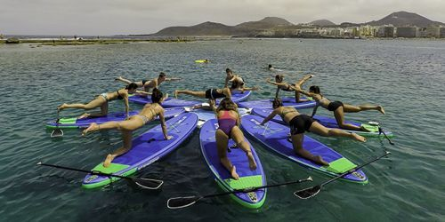 yoga SUP Las Palmas