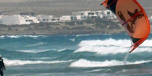 KITE CAMP IN LANZAROTE