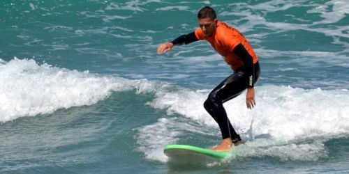 LANZAROTE SURF CAMP BEGINNERS