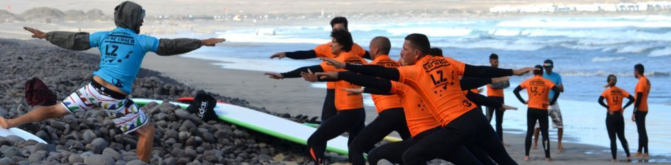 LANZAROTE SURF CAMP BEGINNERS